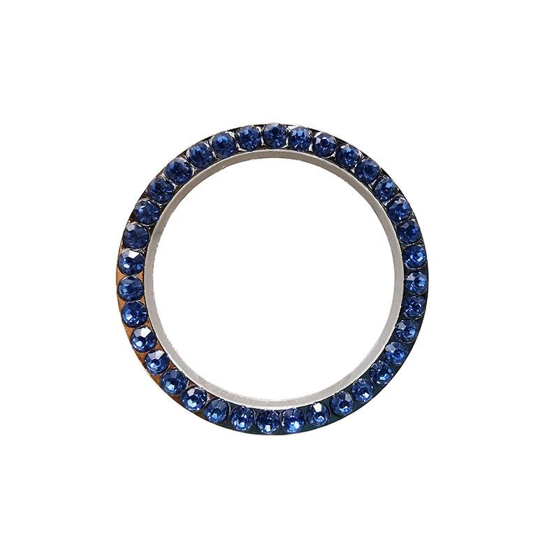 Auto Car Bling Decorative Accessories Automobiles Start Switch Button Decorative Diamond Rhinestone Ring Circle Trim5